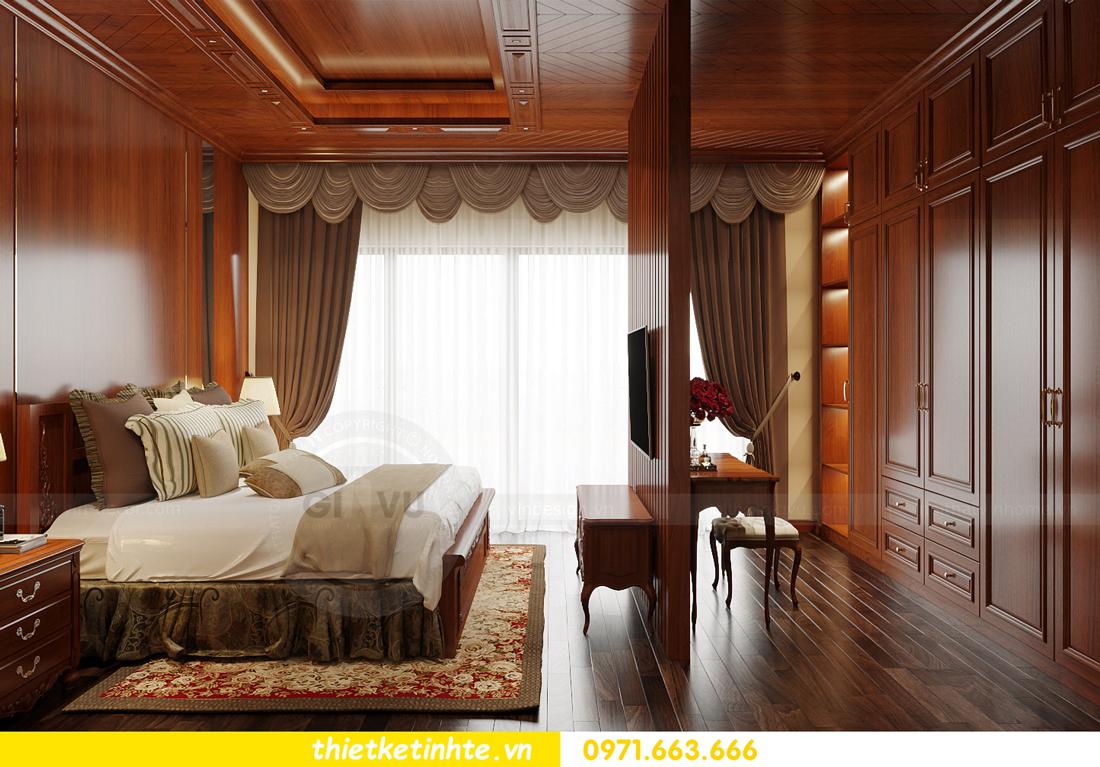 thiết kế nội thất biệt thự Gamuda nhà anh Đại 12