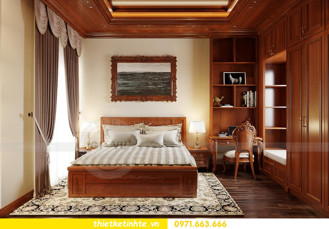 thiết kế nội thất biệt thự Gamuda nhà anh Đại 16