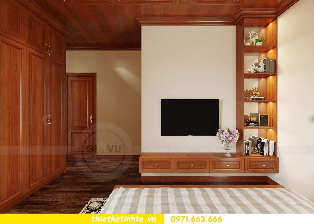 thiết kế nội thất biệt thự Gamuda nhà anh Đại 17