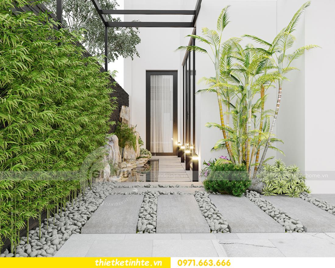 thiết kế nội thất biệt thự Gamuda nhà anh Đại 2