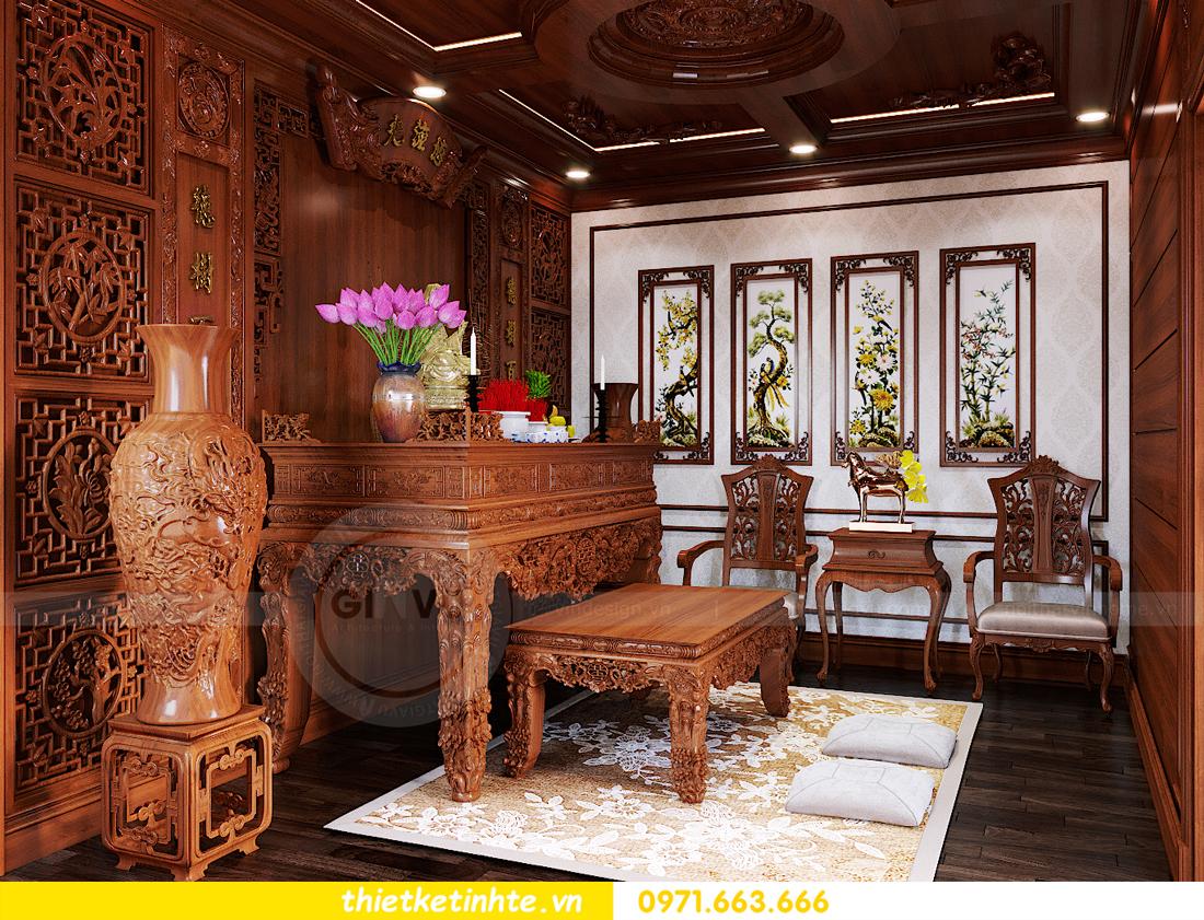 thiết kế nội thất biệt thự Gamuda nhà anh Đại 24