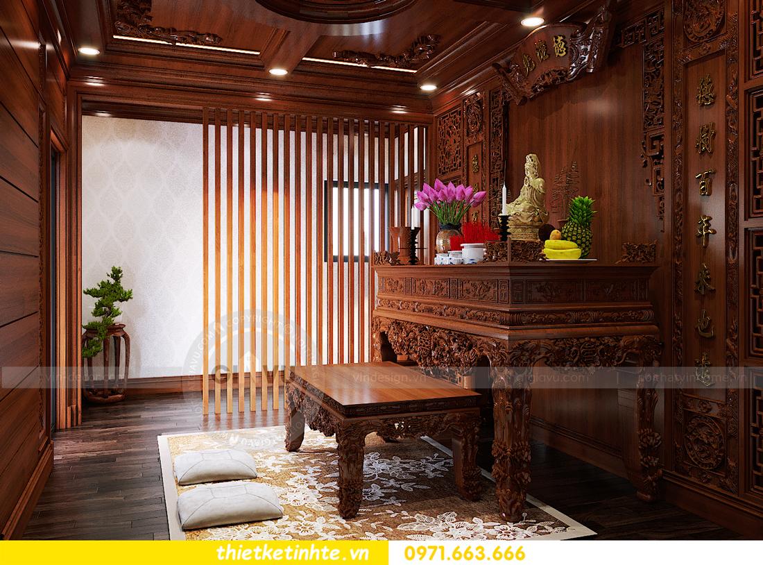thiết kế nội thất biệt thự Gamuda nhà anh Đại 25