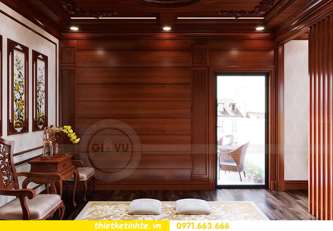 thiết kế nội thất biệt thự Gamuda nhà anh Đại 26