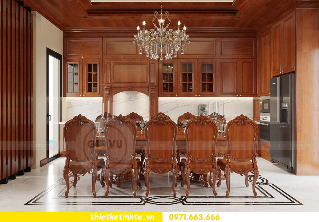 thiết kế nội thất biệt thự Gamuda nhà anh Đại 7