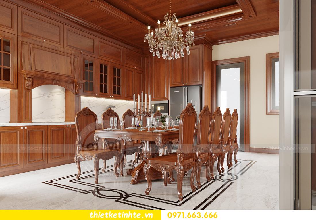 thiết kế nội thất biệt thự Gamuda nhà anh Đại 8