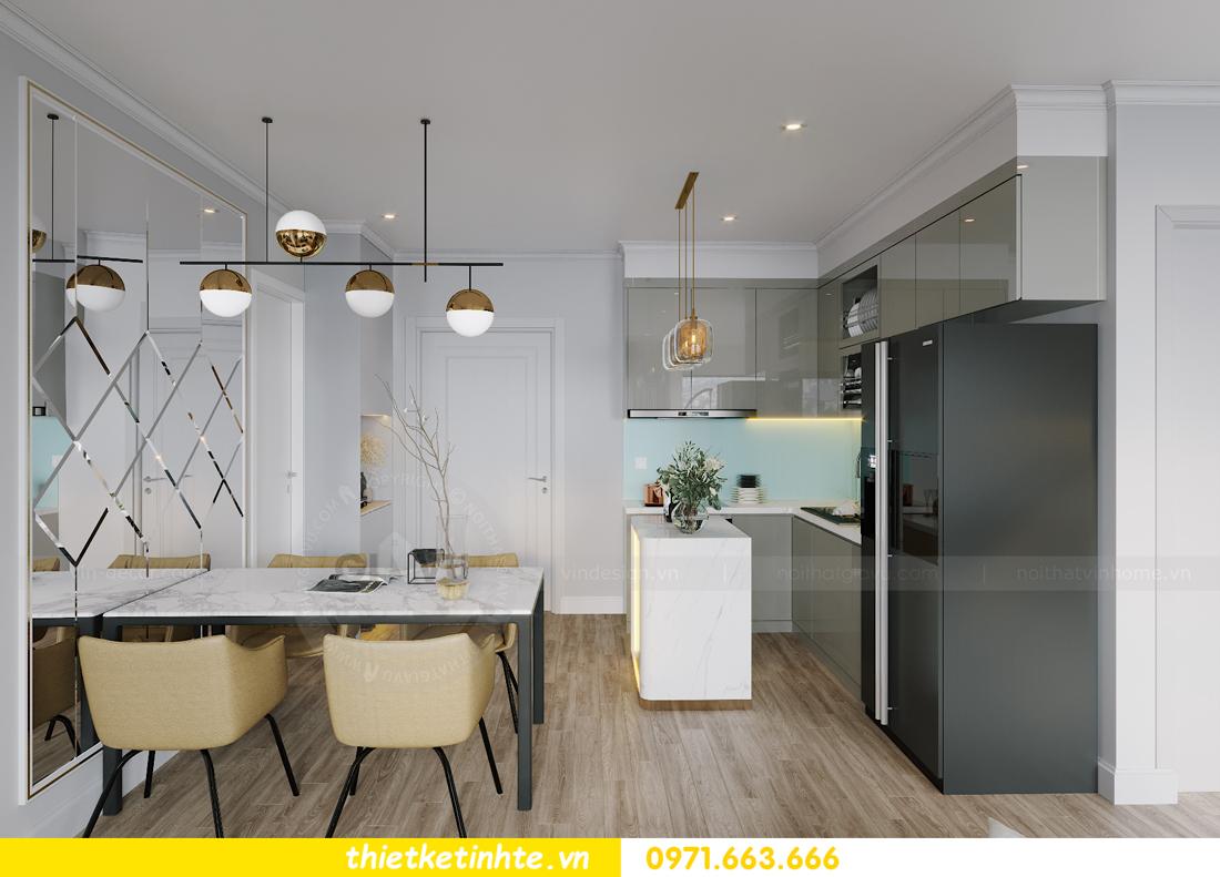 thiết kế nội thất căn hộ Vinhomes West Point W1 CH05 chị Hoa 1