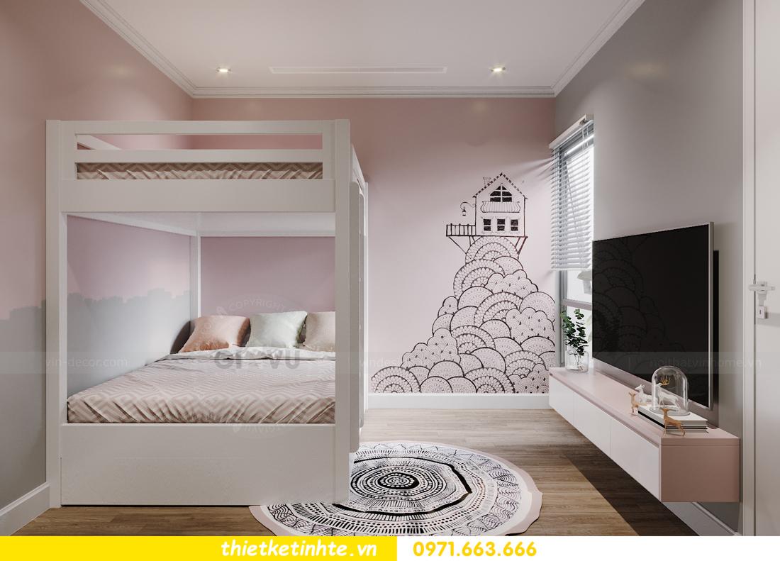 thiết kế nội thất căn hộ Vinhomes West Point W1 CH05 chị Hoa 11