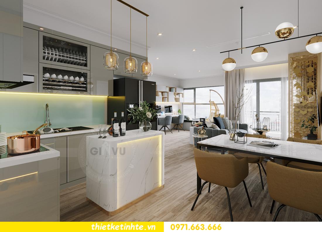 thiết kế nội thất căn hộ Vinhomes West Point W1 CH05 chị Hoa 3