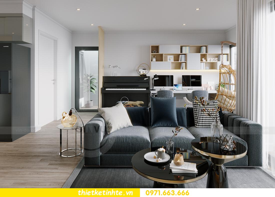 thiết kế nội thất căn hộ Vinhomes West Point W1 CH05 chị Hoa 4