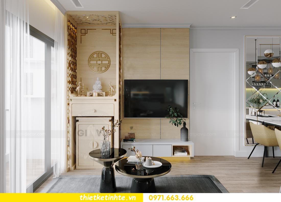 thiết kế nội thất căn hộ Vinhomes West Point W1 CH05 chị Hoa 6