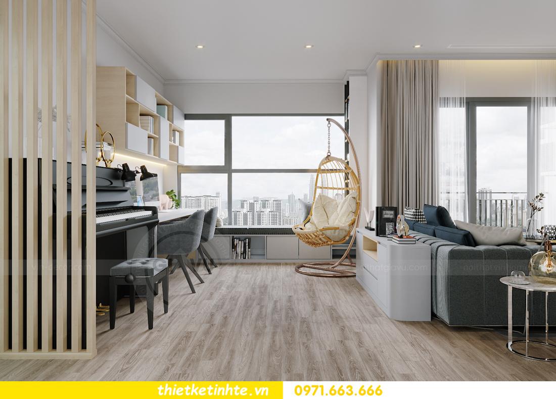 thiết kế nội thất căn hộ Vinhomes West Point W1 CH05 chị Hoa 7