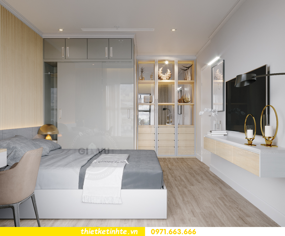 thiết kế nội thất căn hộ Vinhomes West Point W1 CH05 chị Hoa 8