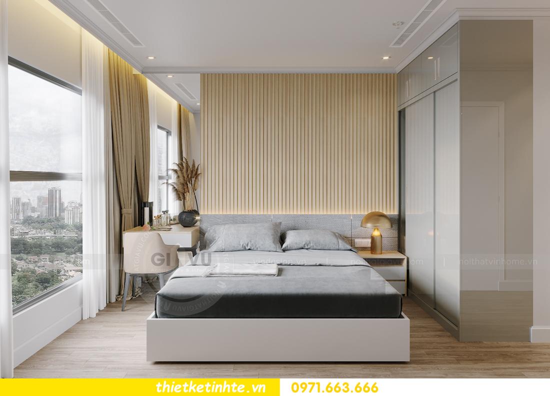 thiết kế nội thất căn hộ Vinhomes West Point W1 CH05 chị Hoa 9