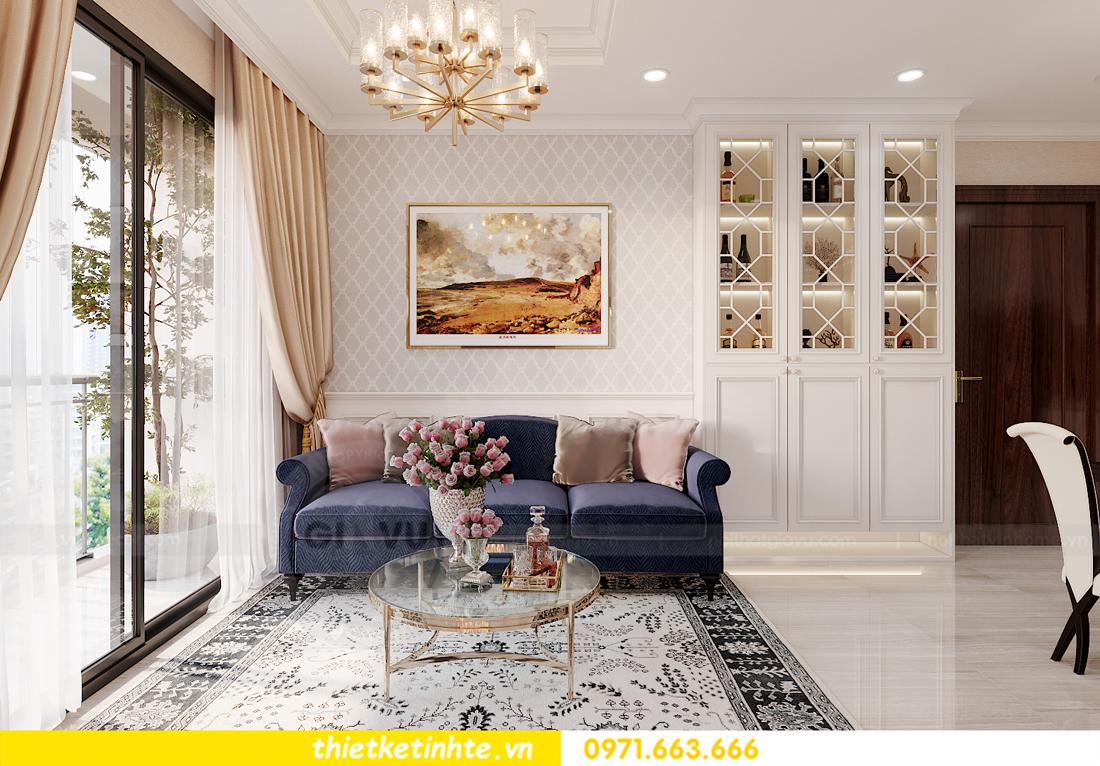 thiết kế nội thất chung cư Smart City tòa S202 căn hộ 08 1
