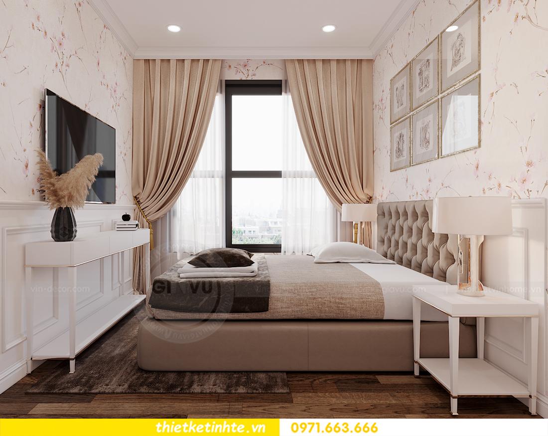 thiết kế nội thất chung cư Smart City tòa S202 căn hộ 08 10