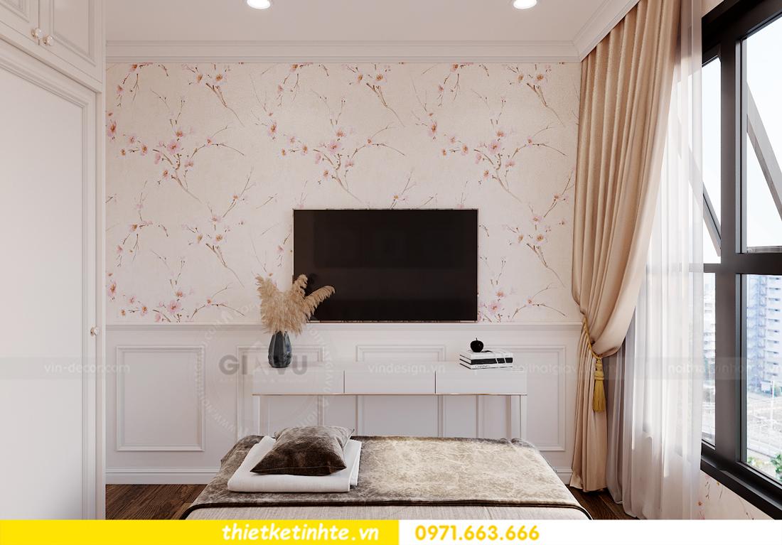 thiết kế nội thất chung cư Smart City tòa S202 căn hộ 08 11