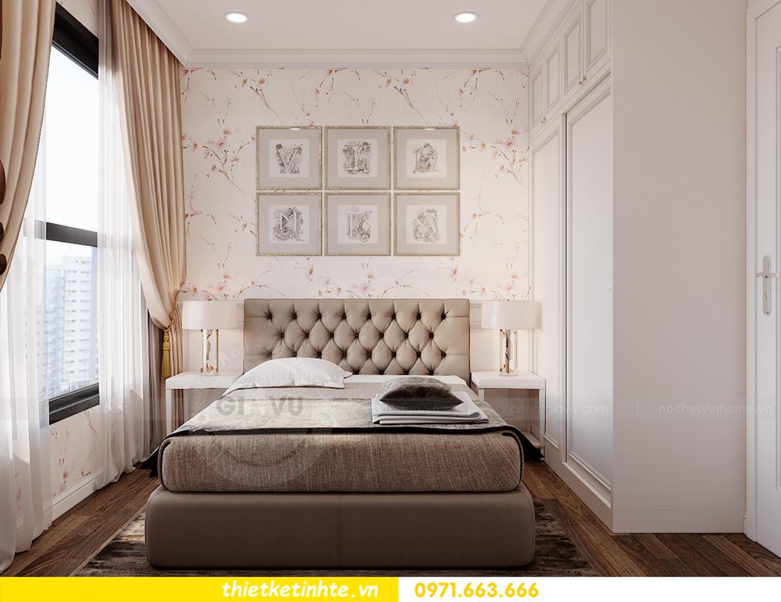 thiết kế nội thất chung cư Smart City tòa S202 căn hộ 08 12