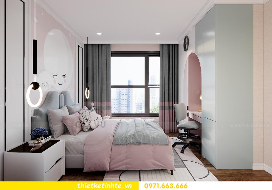 thiết kế nội thất chung cư Smart City tòa S202 căn hộ 08 13