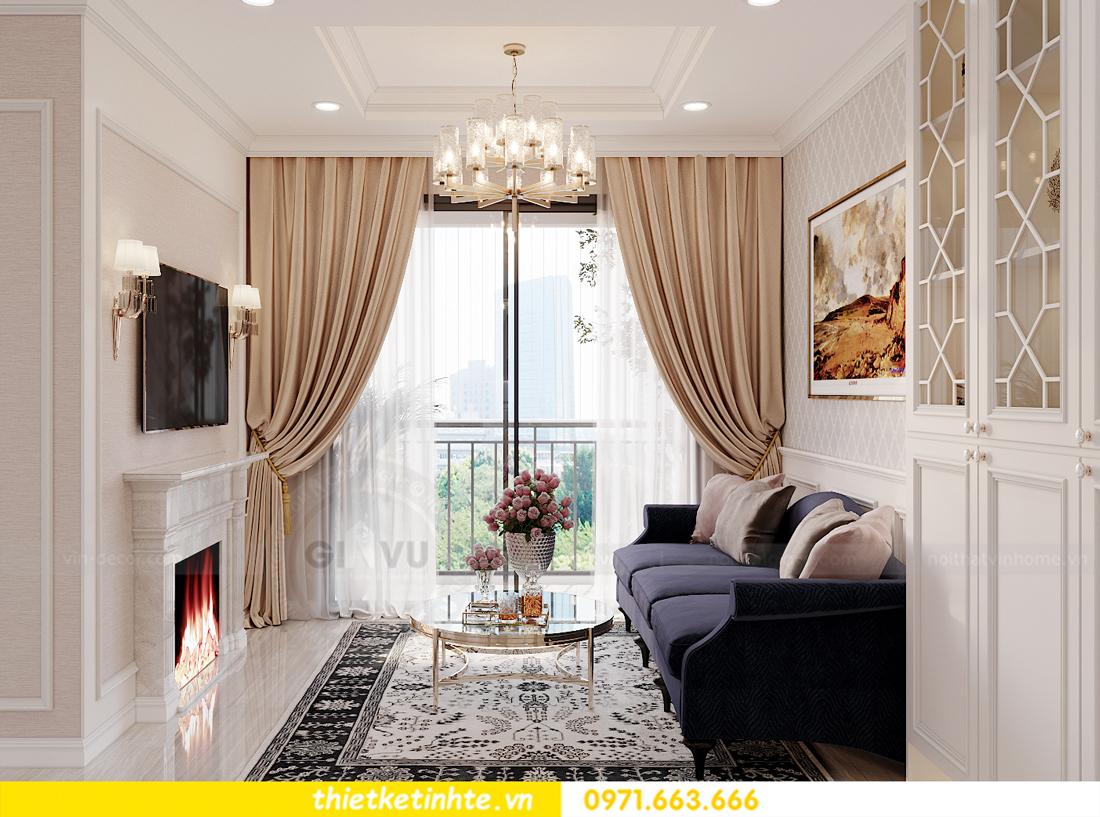 thiết kế nội thất chung cư Smart City tòa S202 căn hộ 08 2