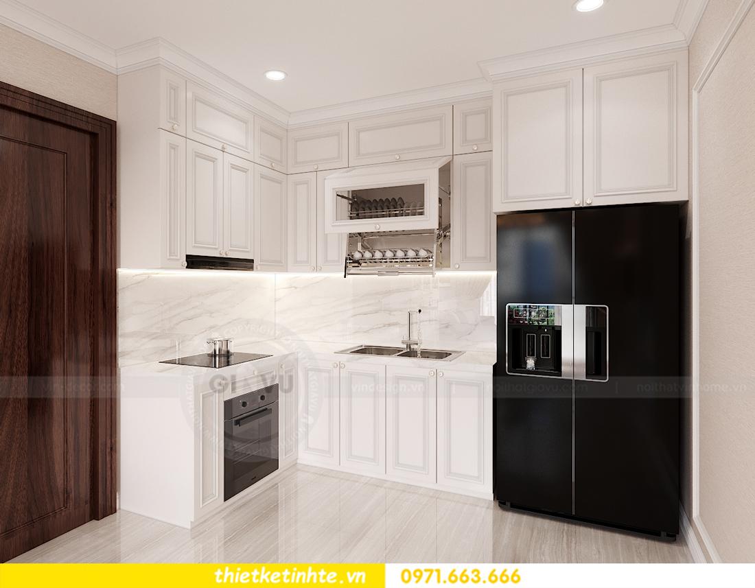 thiết kế nội thất chung cư Smart City tòa S202 căn hộ 08 4