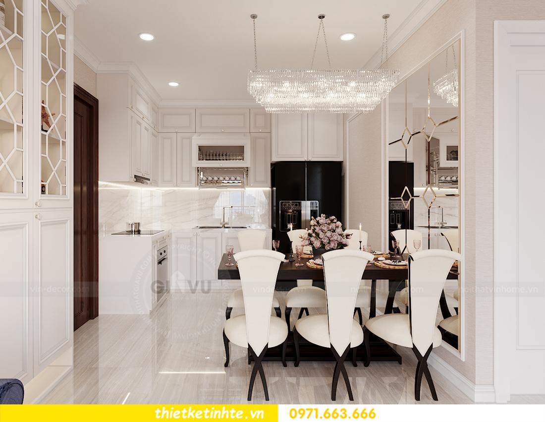 thiết kế nội thất chung cư Smart City tòa S202 căn hộ 08 5
