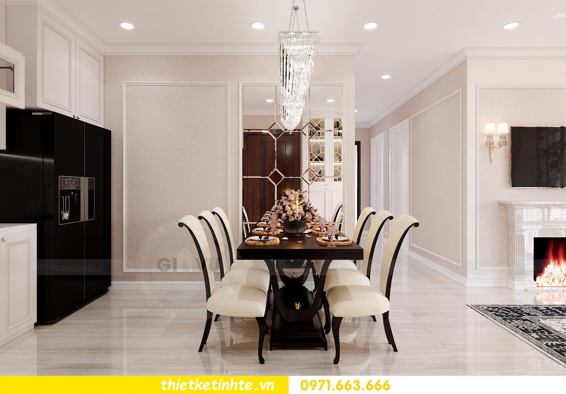 thiết kế nội thất chung cư Smart City tòa S202 căn hộ 08 6