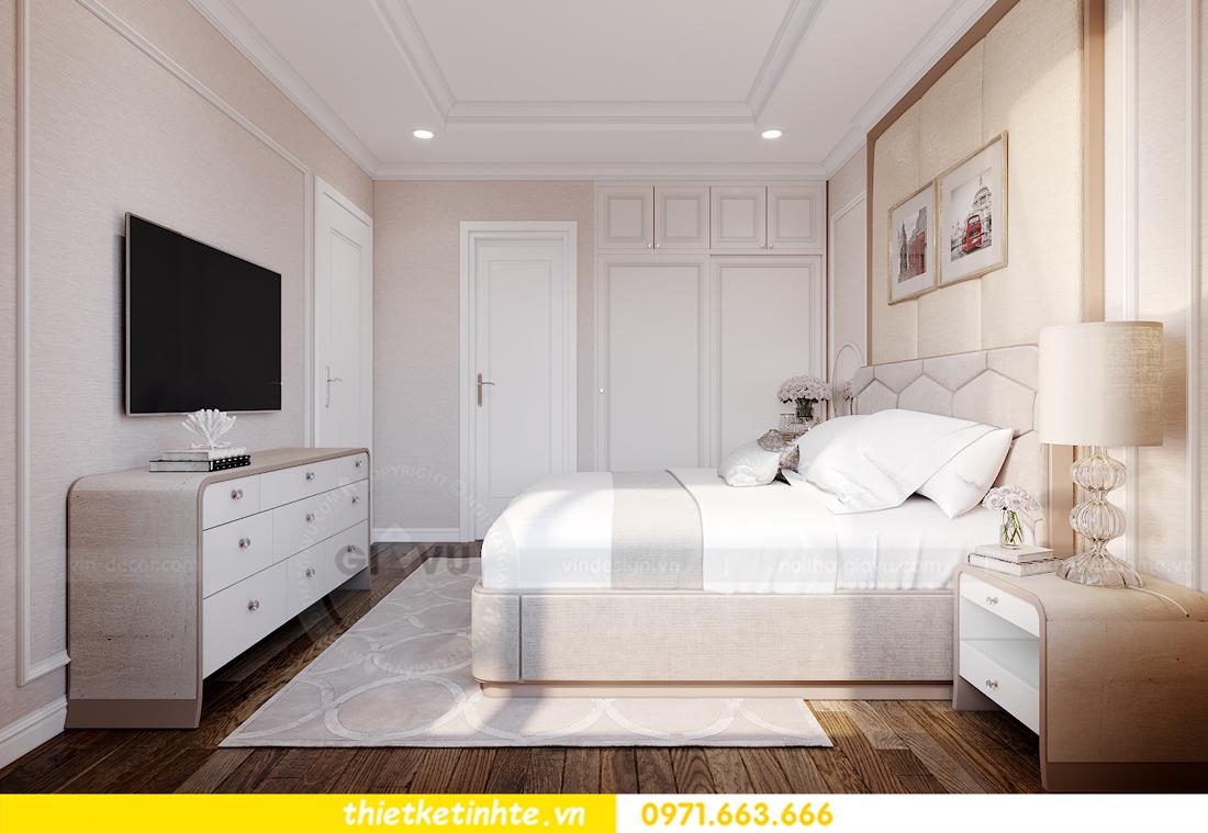 thiết kế nội thất chung cư Smart City tòa S202 căn hộ 08 7