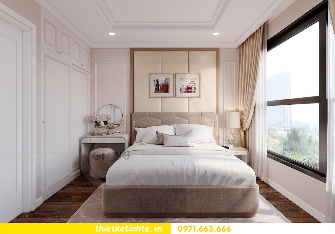 thiết kế nội thất chung cư Smart City tòa S202 căn hộ 08 8