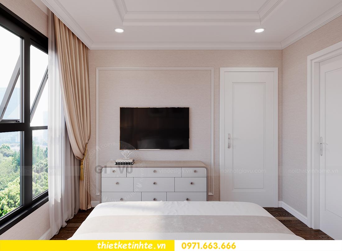 thiết kế nội thất chung cư Smart City tòa S202 căn hộ 08 9