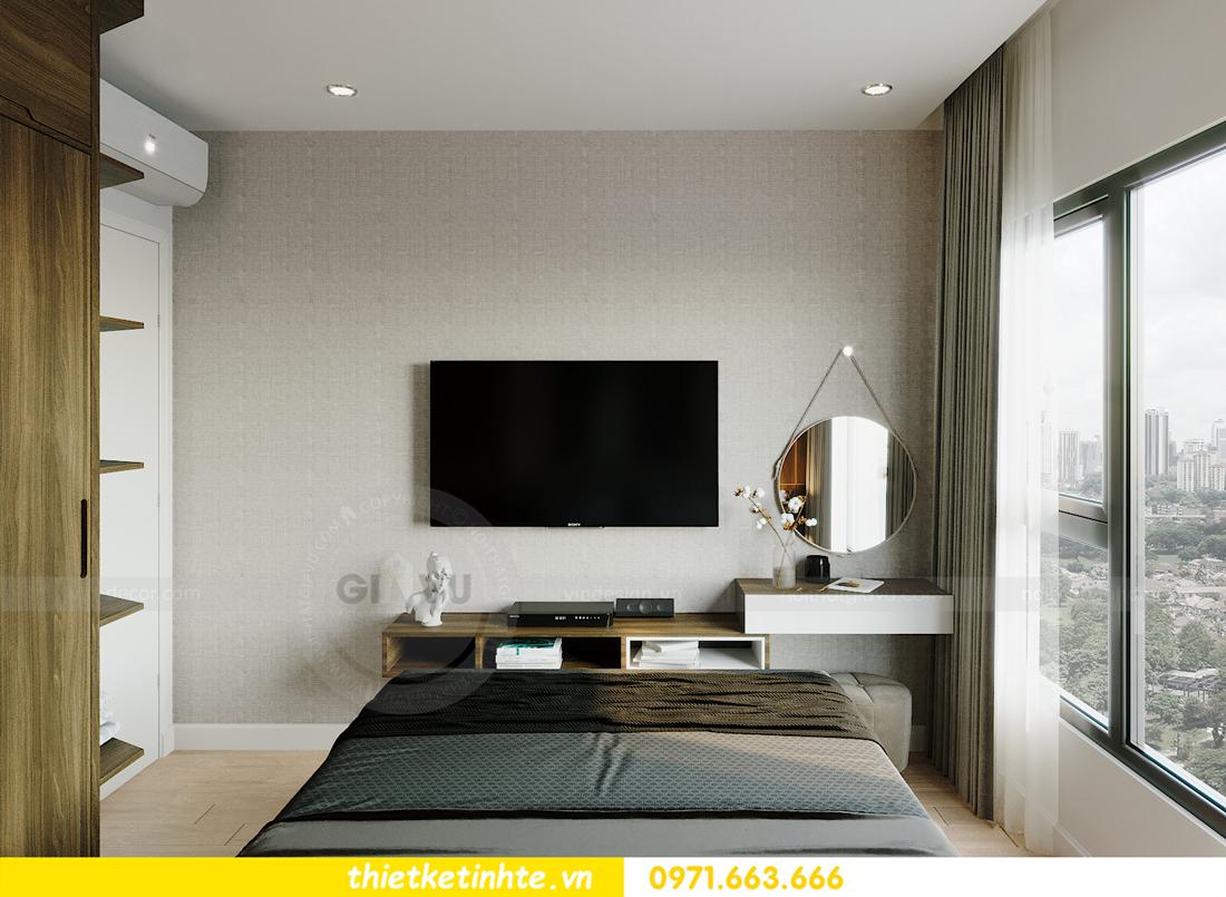 thiết kế nội thất Smart City tòa S201 căn hộ 2218 chị Quỳnh 6