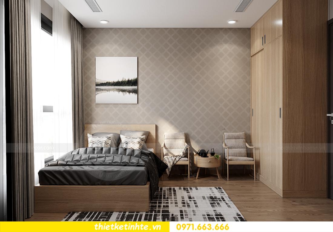 thiết kế nội thất Vinhomes West Point tòa W3 căn 05A 14