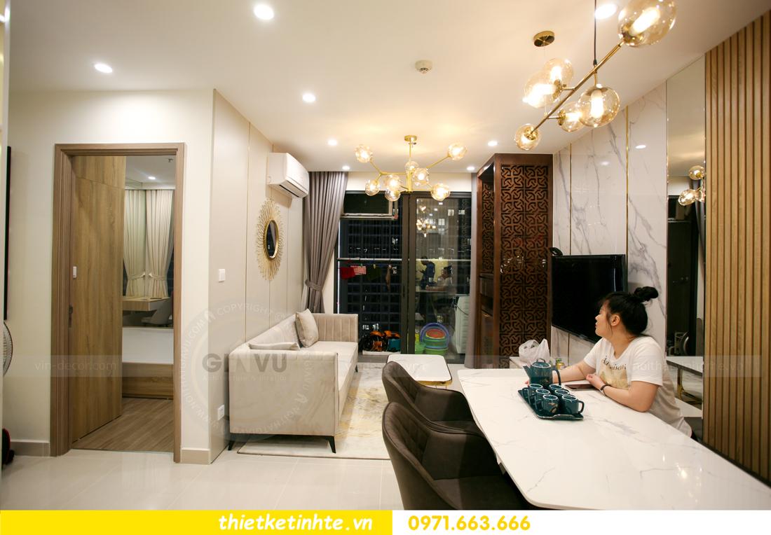 thi công nội thất chung cư Smart City tòa S201 căn 2903 3