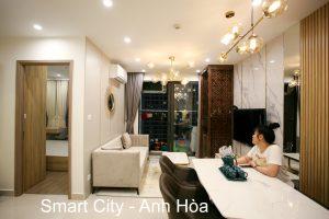 Thi Công Nội Thất Chung Cư Smart City Tòa S201 Căn 2903