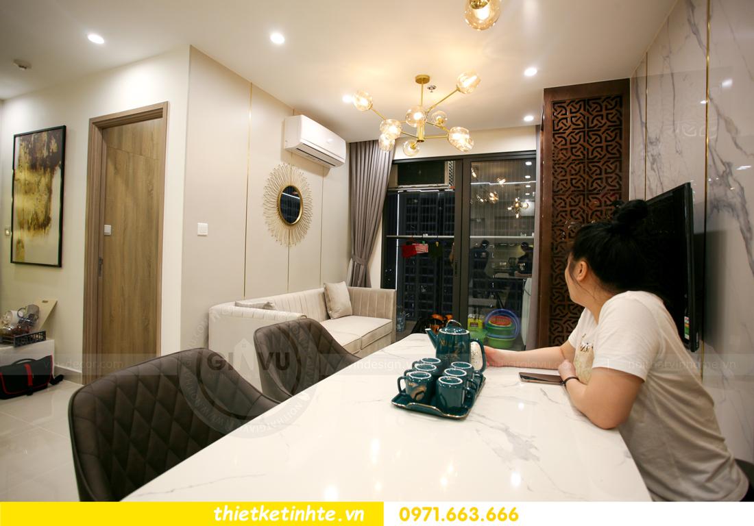 thi công nội thất chung cư Smart City tòa S201 căn 2903 4