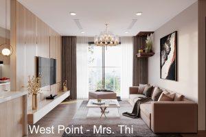 Thiết Kế Nội Thất Vinhomes West Point Tòa W3 Căn 05A