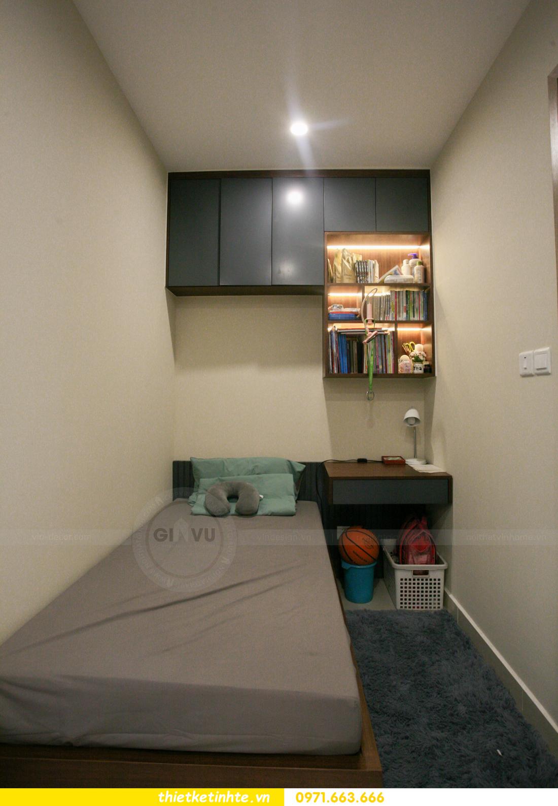 thi công nội thất căn hộ Smart City tòa S201 nhà anh Hân 13