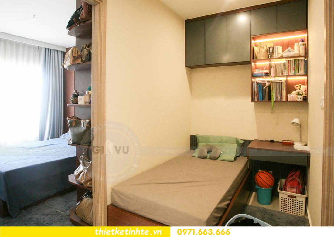 thi công nội thất căn hộ Smart City tòa S201 nhà anh Hân 14