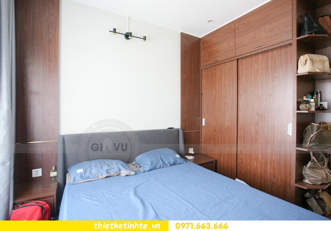 thi công nội thất căn hộ Smart City tòa S201 nhà anh Hân 15