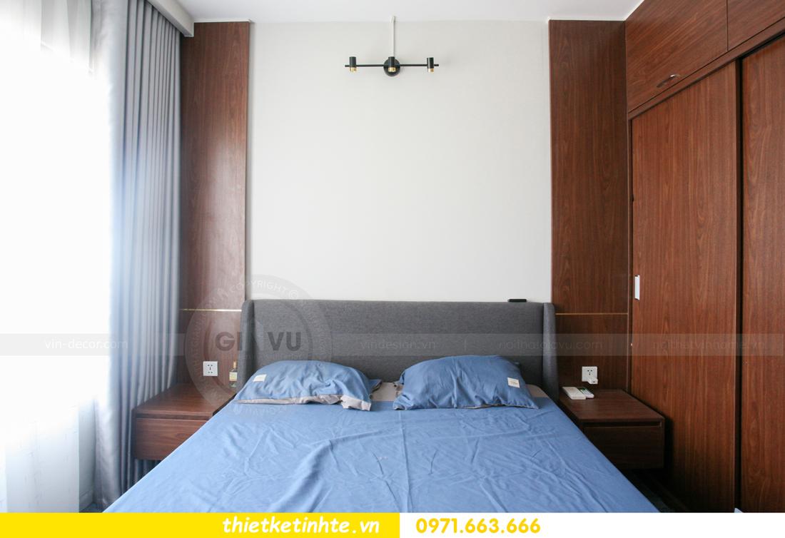 thi công nội thất căn hộ Smart City tòa S201 nhà anh Hân 16