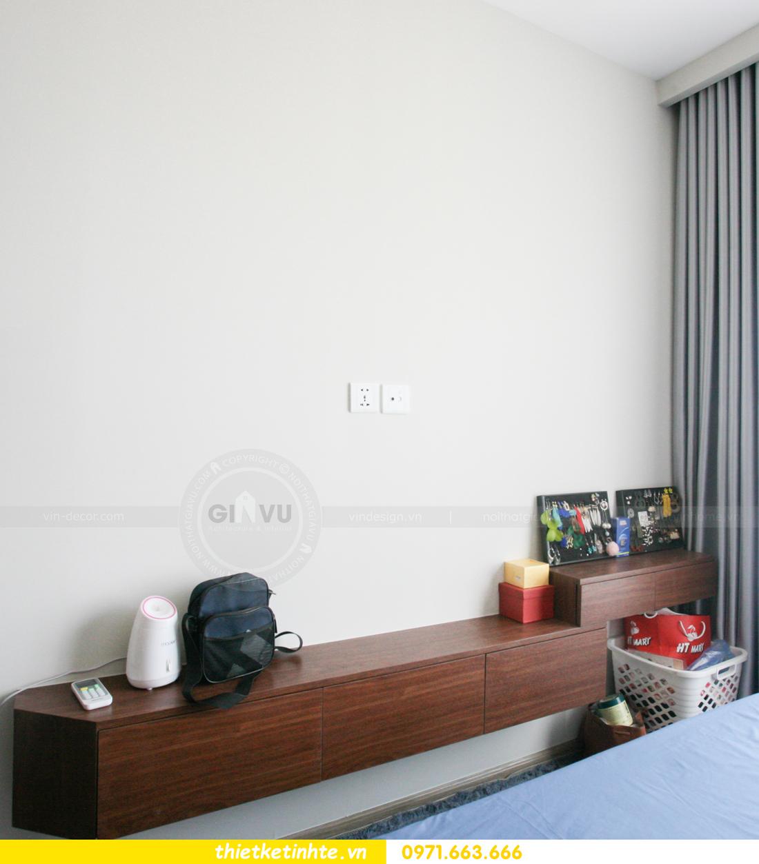 thi công nội thất căn hộ Smart City tòa S201 nhà anh Hân 17