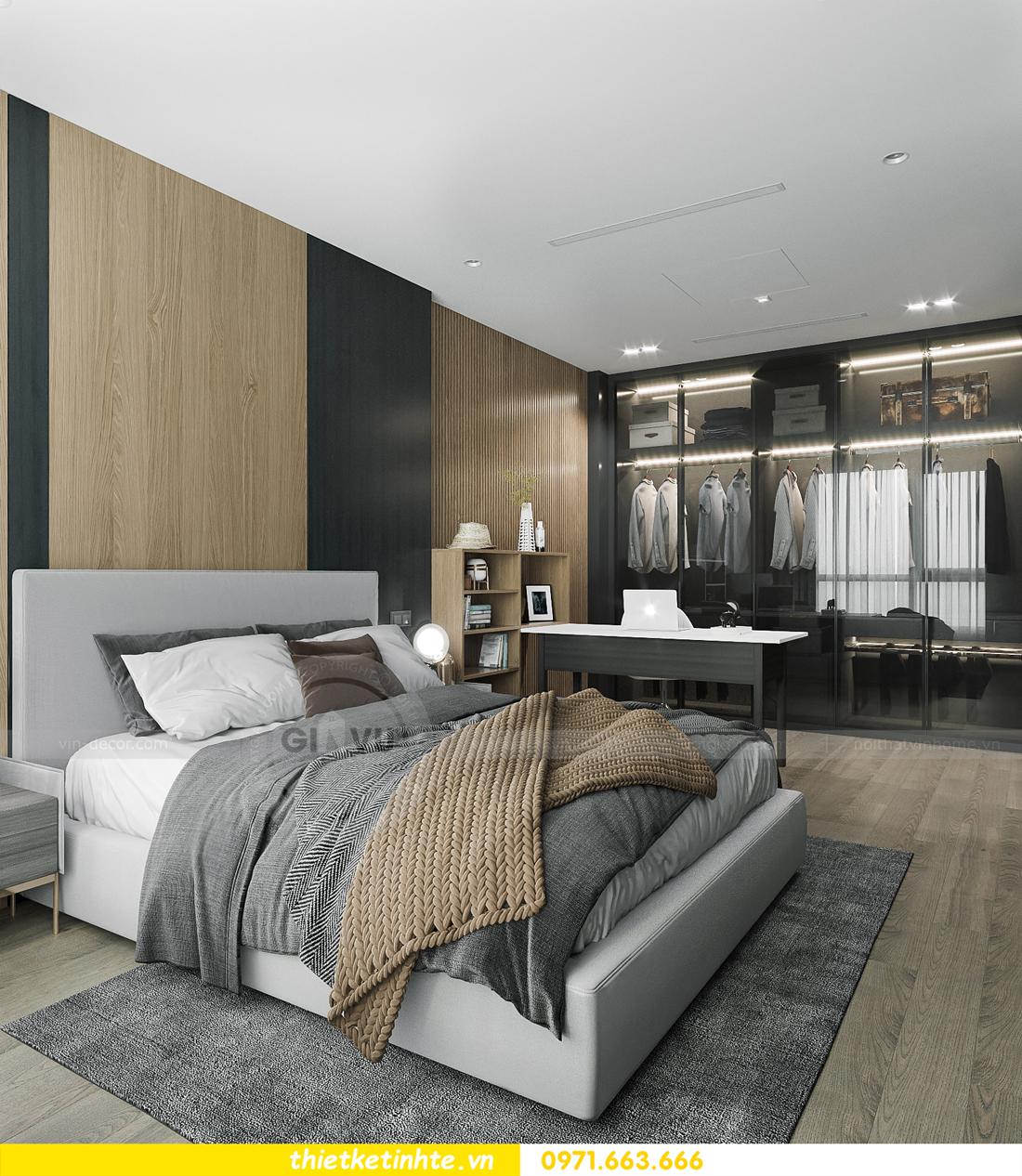 thiết kế nội thất căn hộ 1PN + 1 tại Vinhomes Smart City 7