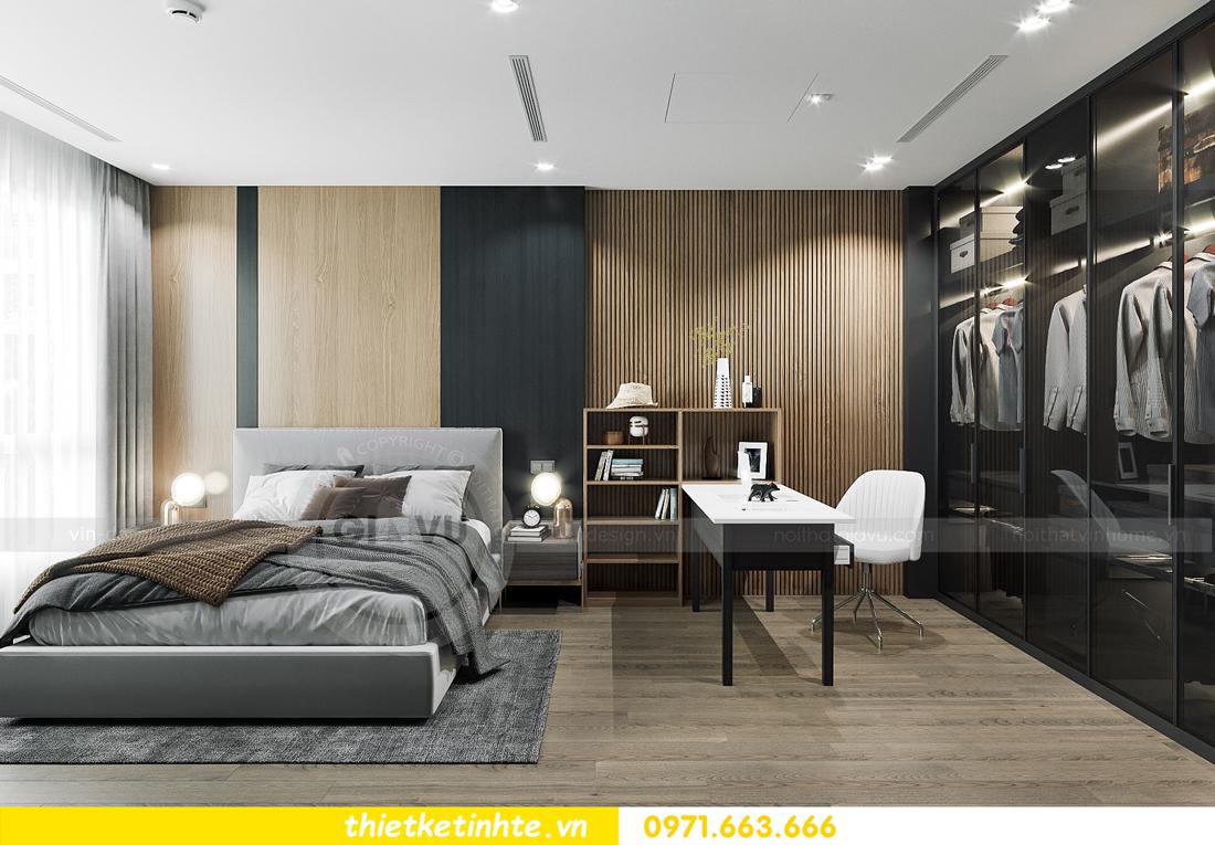 thiết kế nội thất căn hộ 1PN + 1 tại Vinhomes Smart City 8