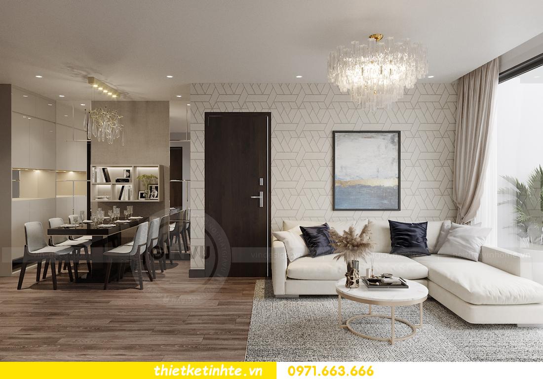 thiết kế nội thất căn hộ Vinhomes West Point tòa W2 căn 01 2