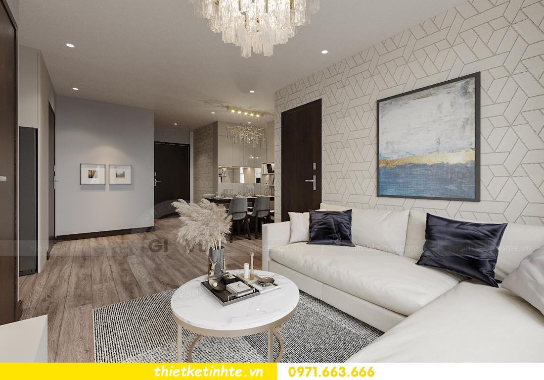 thiết kế nội thất căn hộ Vinhomes West Point tòa W2 căn 01 4