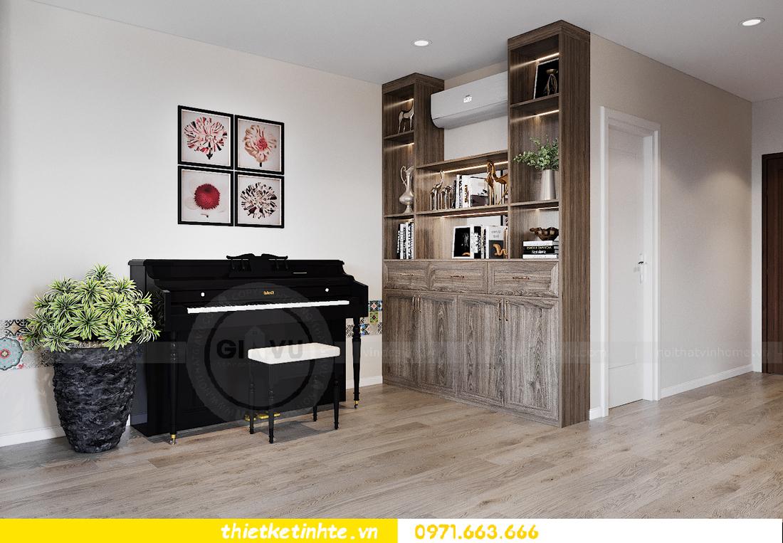 thiết kế nội thất chung cư đập thông xứng tầm đẳng cấp 2
