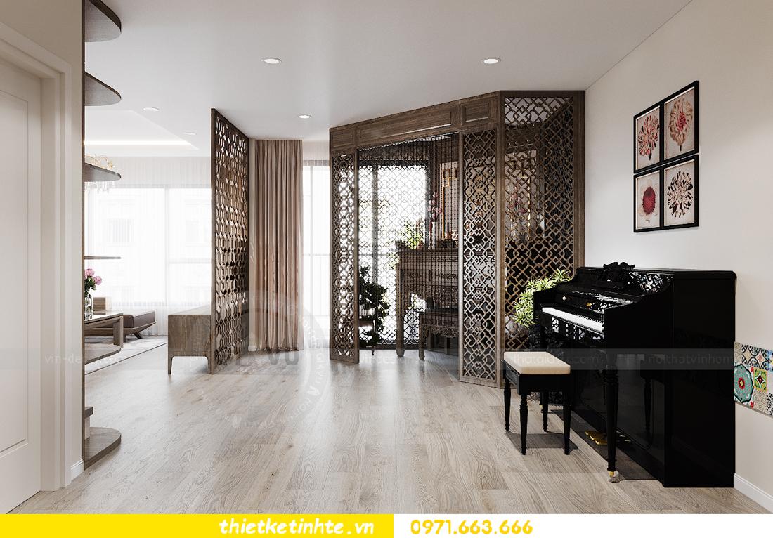 thiết kế nội thất chung cư đập thông xứng tầm đẳng cấp 3