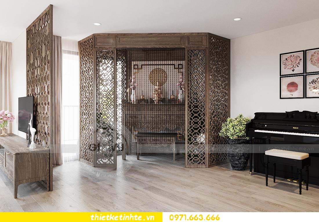 thiết kế nội thất chung cư đập thông xứng tầm đẳng cấp 4