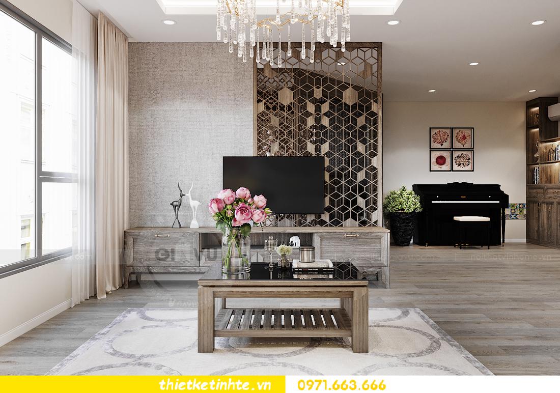thiết kế nội thất chung cư đập thông xứng tầm đẳng cấp 5
