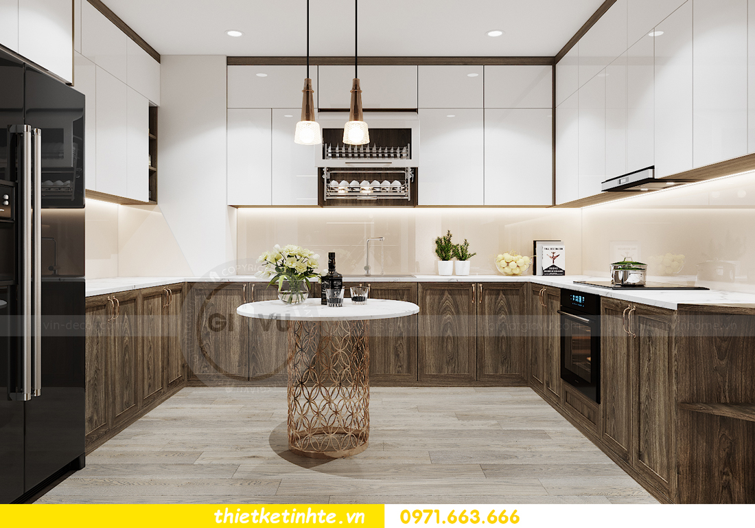 thiết kế nội thất chung cư đập thông xứng tầm đẳng cấp 8