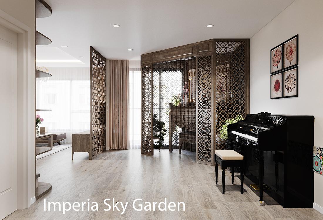 Thiết kế nội thất chung cư đập thông – xứng tầm đẳng cấp